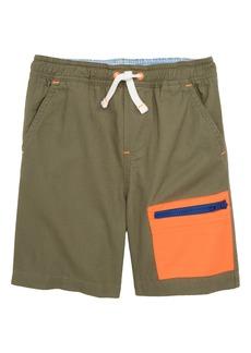 Mini Boden Colorblock Shorts (Toddler Boys, Little Boys & Big Boys)