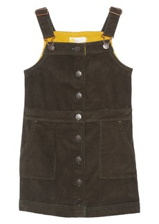 Mini Boden Corduroy Pinafore Dress (Little Girls & Big Girls)