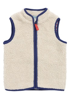 Mini Boden Cosy Borg Fleece Vest (Baby Boys)