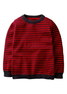 Mini Boden Cotton & Cashmere Sweater (Toddler Boys, Little Boys & Big Boys)