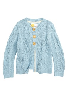 Mini Boden Cozy Cable Cardigan