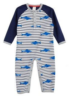 Mini Boden Cozy Romper (Baby Boys)