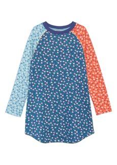 Mini Boden Cozy Sweatshirt Dress (Toddler Girls, Little Girls & Big Girls)