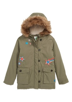 Mini Boden Cozy Water Resistant Parka (Little Girls & Big Girls)