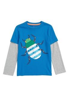 Mini Boden Creepy Crawly Bug T-Shirt (Toddler Boys, Little Boys & Big Boys)