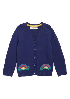 Mini Boden Crochet Cardigan (Baby Girls)