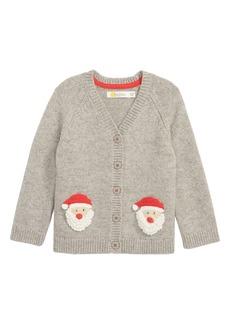 Mini Boden Crochet Characters Knit Cardigan (Baby)