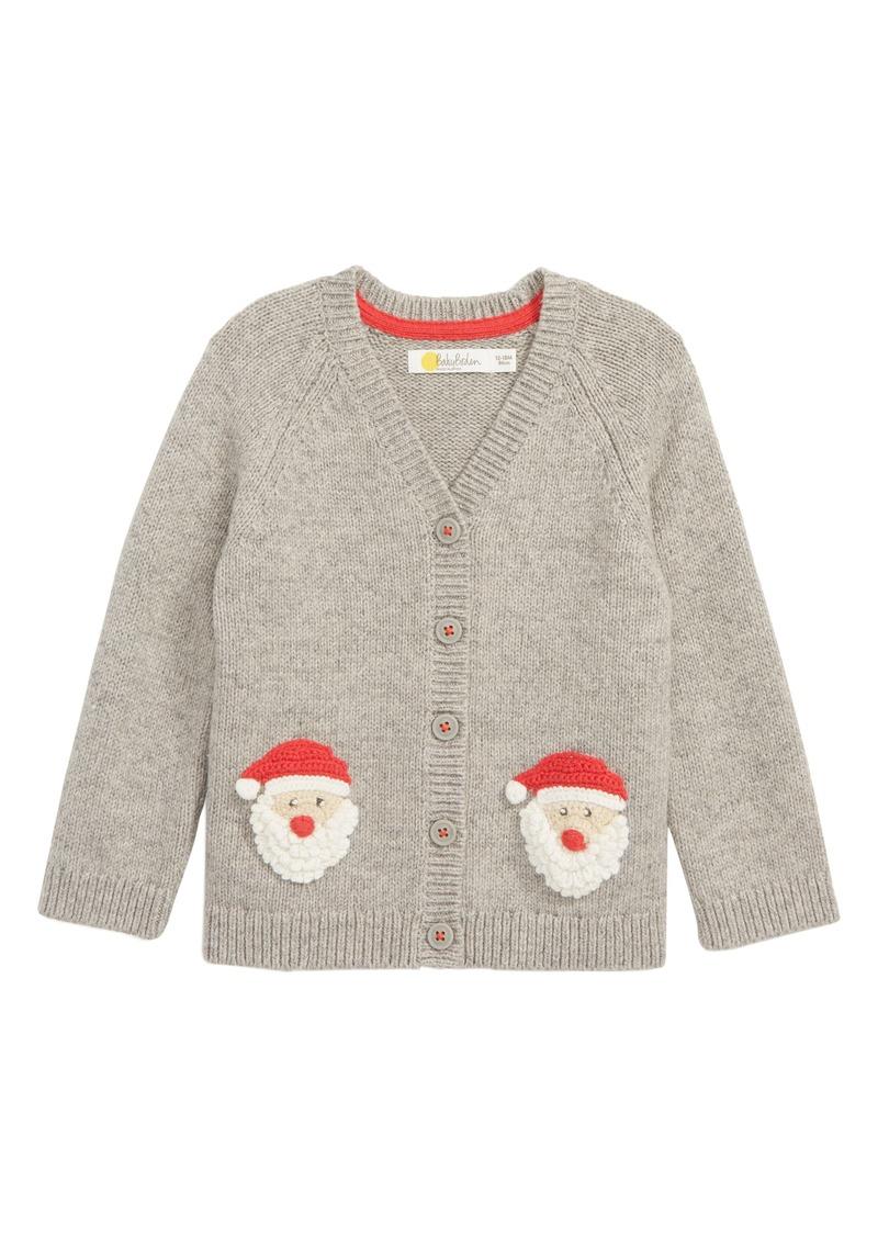 Mini Boden Mini Boden Crochet Characters Knit Cardigan Baby Sweaters