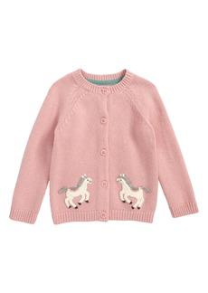 Mini Boden Crochet Pony Cardigan (Baby Girls & Toddler Girls)