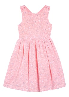 Mini Boden Cross Back Dress (Toddler, Little Kid & Big Kid)