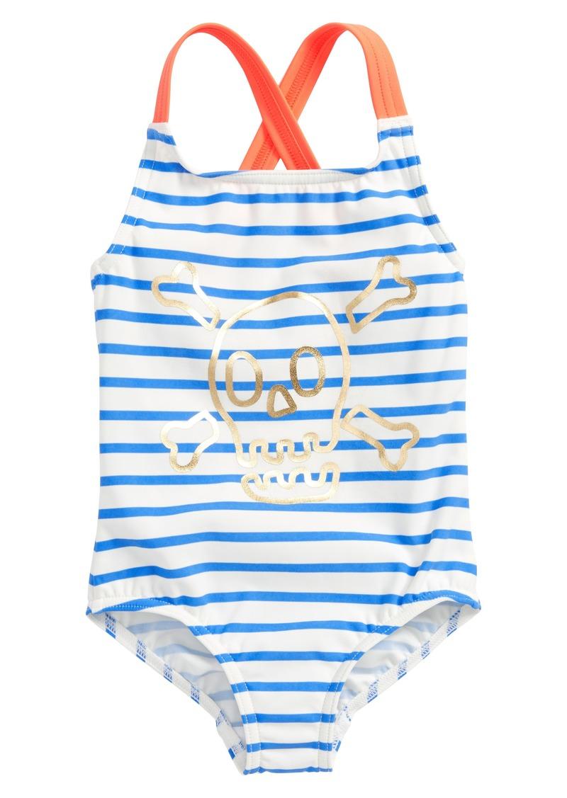 ece2c73f0f Mini Boden Cross Back One-Piece Swimsuit (Toddler Girls, Little Girls & Big