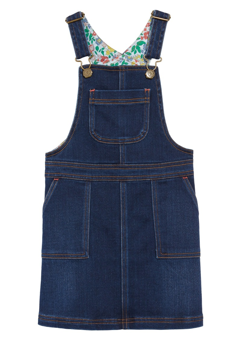 ebae4e66d Mini Boden Denim Dungaree Overall Dress (Toddler Girls, Little Girls & Big  Girls)