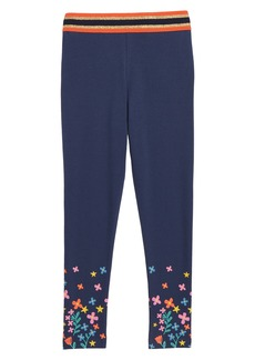 Mini Boden Detail Leggings (Toddler Girls, Little Girls & Big Girls)