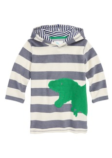 Mini Boden Dino Towelling Hoodie (Toddler Boys, Little Boys & Big Boys)