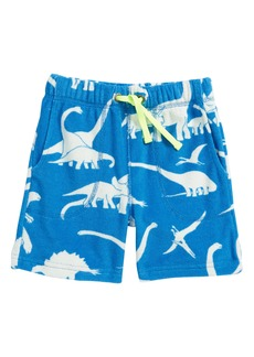 Mini Boden Dino Towelling Shorts (Toddler Boys, Little Boys & Big Boys)
