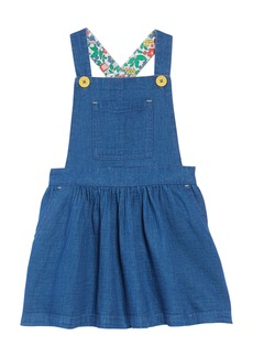 Mini Boden Dungaree Overall Dress (Toddler Girls, Little Girls & Big Girls)
