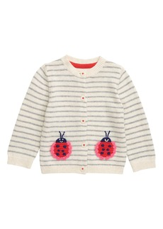 Mini Boden Embroidered Cardigan (Baby)