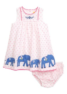 Mini Boden Embroidered Dress (Baby)