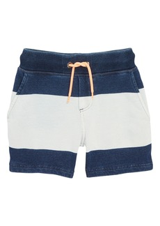 Mini Boden Embroidered Jersey Shorts (Little Boys & Big Boys)