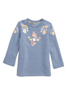 Mini Boden Embroidered Sweatshirt (Baby)