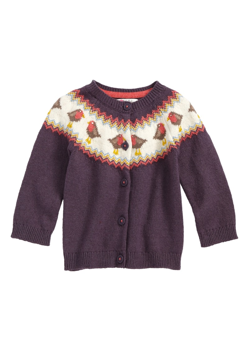 Mini boden mini boden fair isle cardigan baby girls for Mini boden sale deutschland