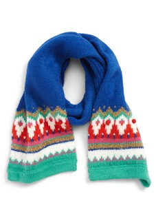 Mini Boden Fair Isle Scarf (Girls)