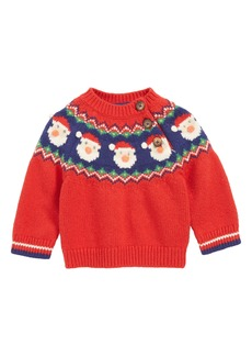 Mini Boden Fair Isle Sweater (Baby & Toddler)