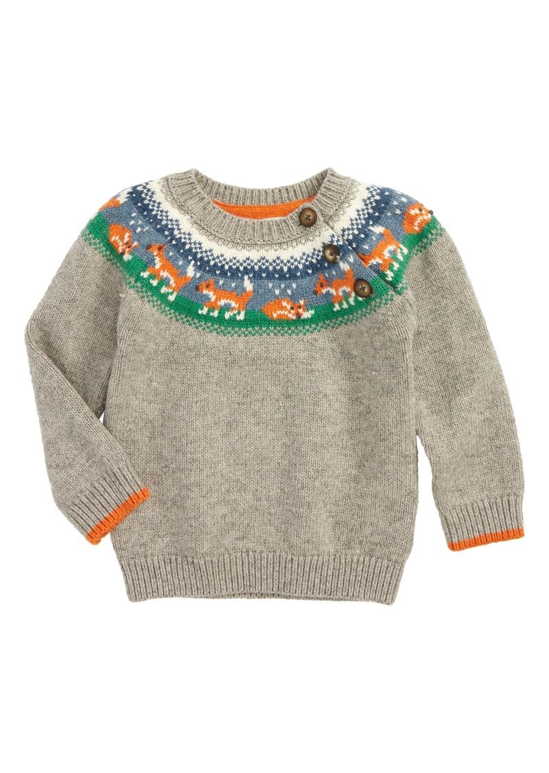 a8b147bc4 Mini Boden Mini Boden Fair Isle Sweater (Baby Boys   Toddler Boys ...