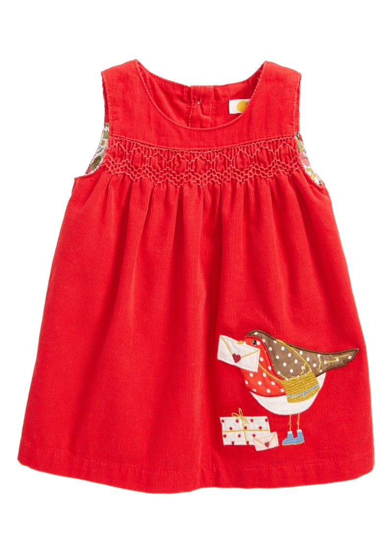 f8c9f3d02a478 Mini Boden Fairy Tale Appliqué Dress (Baby Girls & Toddler Girls)