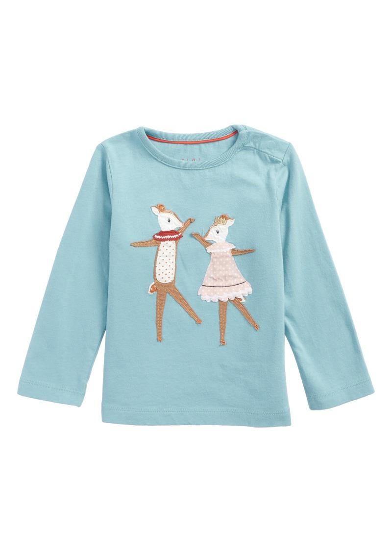 e5cd2628a45b Mini Boden Mini Boden Fairy Tale Friends Appliqué Tee (Baby Girls ...