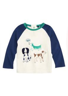 Mini Boden Farmyard Sketch T-Shirt (Baby Boys)