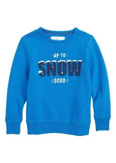 Mini Boden Festive Graphic Sweatshirt (Toddler Boys, Little Boys & Big Boys)