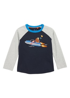 Mini Boden Festive Superstitch T-Shirt (Toddler Boys, Little Boys & Big Boys)