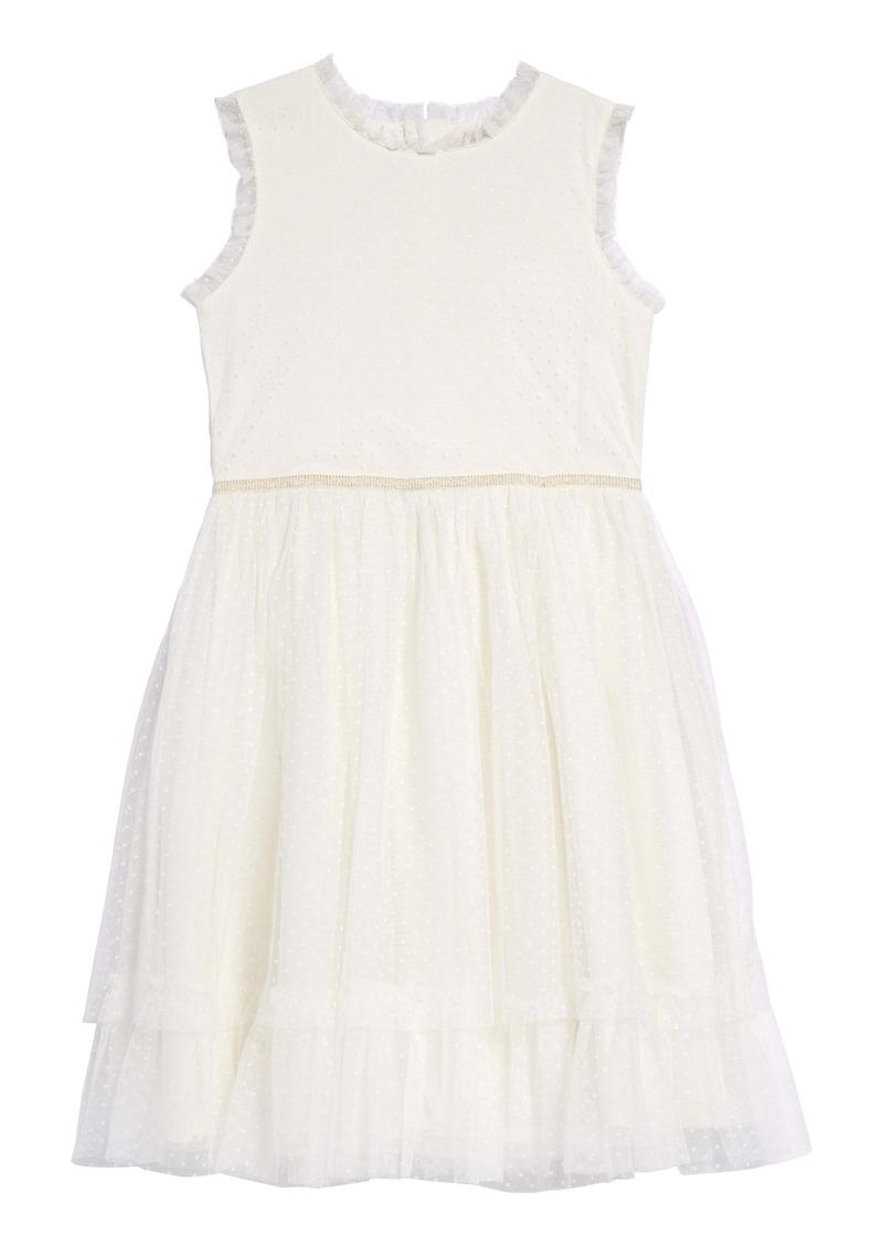 Mini Boden Festive Tulle Party Dress (Toddler Girls, Little Girls & Big Girls)