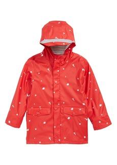 Mini Boden Fisherman's Waterproof Jacket (Toddler Boys, Little Boys & Big Boys)