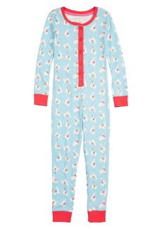 Mini Boden Fitted Cosy All in One Pajamas (Toddler Girls, Little Girls & Big Girls)