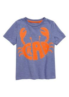 Mini Boden Fluoro Crab T-Shirt (Toddler Boys, Little Boys & Big Boys)
