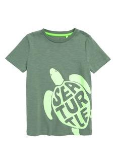 Mini Boden Fluoro Sea Turtle T-Shirt (Toddler Boys, Little Boys & Big Boys)