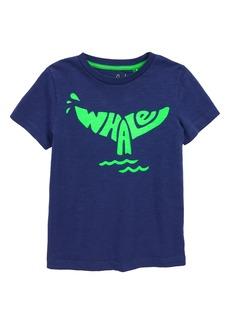 Mini Boden Fluoro Whale T-Shirt (Toddler Boys, Little Boys & Big Boys)
