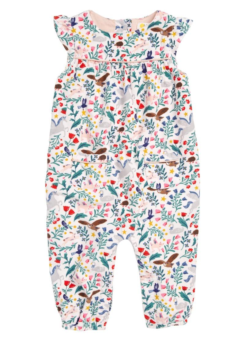 29e38f540863 Mini Boden Flutter Sleeve Corduroy Romper (Baby Girls   Toddler Girls)