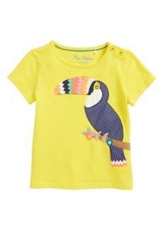 Mini Boden Fluttery Animal Tee (Toddler Girls, Little Girls & Big Girls)