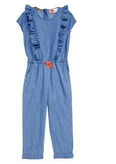 Mini Boden Frill Jumpsuit (Little Girls & Big Girls)