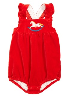 Mini Boden Frilly Romper (Baby)