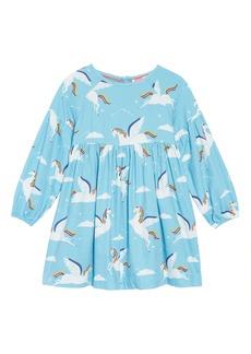 Mini Boden Full Sleeve Woven Dress (Toddler Girls, Little Girls & Big Girls)