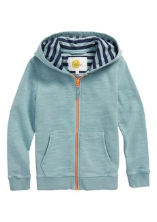 Mini Boden Full Zip Hoodie (Toddler Boys, Little Boys & Big Boys)