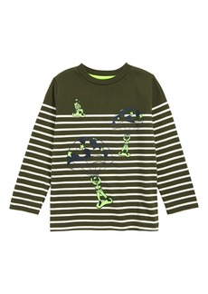 Mini Boden Fun Breton T-Shirt (Toddler Boys, Little Boys & Big Boys)