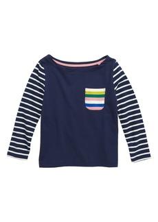 Mini Boden Fun Breton Tee (Toddler Girls, Little Girls & Big Girls)