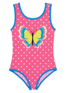 Mini Boden Fun Detail One-Piece Swimsuit (Toddler Girls, Little Girls & Big Girls)