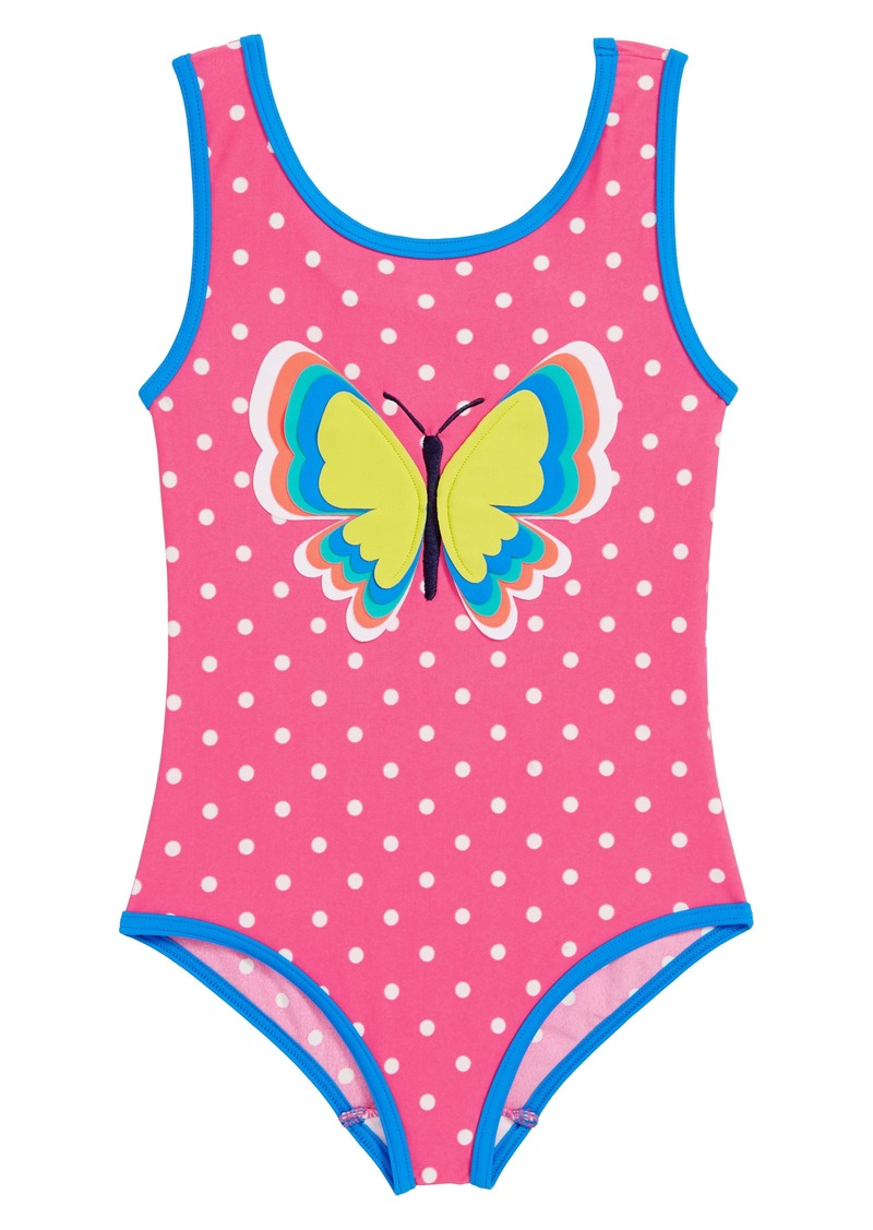 Mini Boden Mini Boden Fun Detail One Piece Swimsuit Toddler Girls