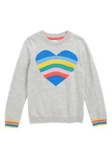 Mini Boden Fun Heart Intarsia Sweater